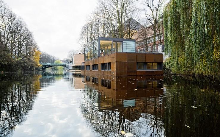 Wohntrends: Maritimes Wohnflair 1 eilbek canal houseboat5 e1344276308620