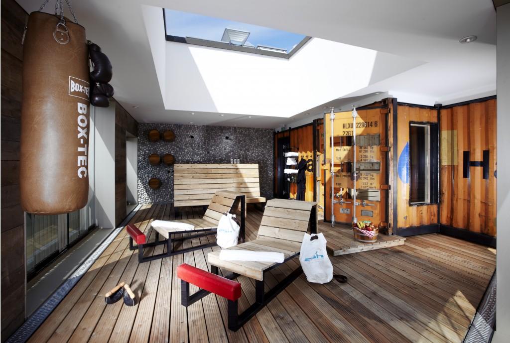 25Hour Hotel, Hamburg 25h HafenCity Hafensauna2 1024x689