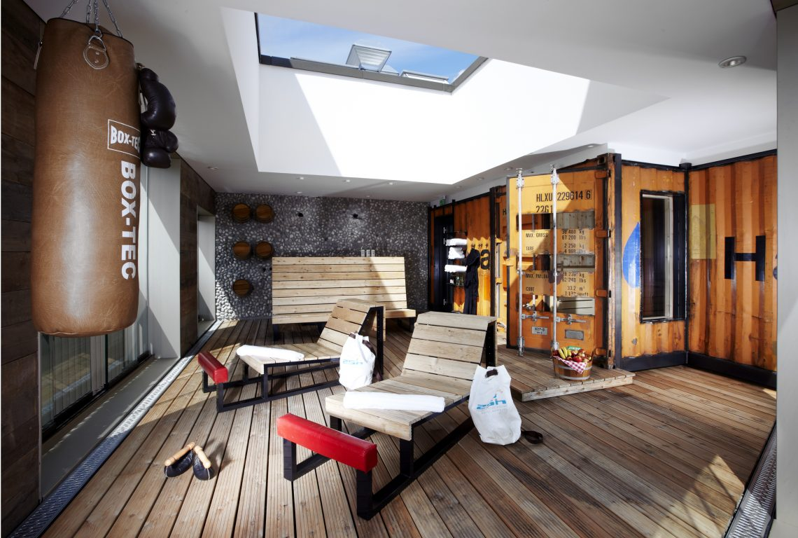25Hour Hotel, Hamburg 25h HafenCity Hafensauna2
