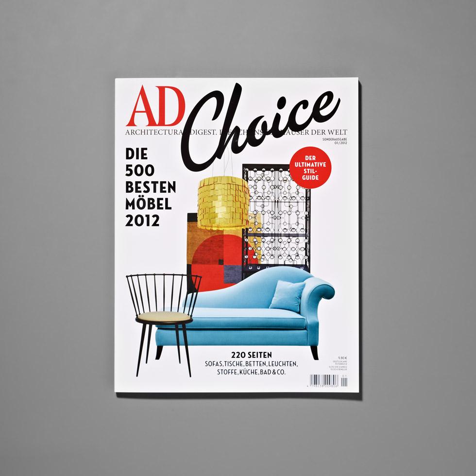 AD Choice: Die besten Möbel & Trends 2012 AD Choice 1