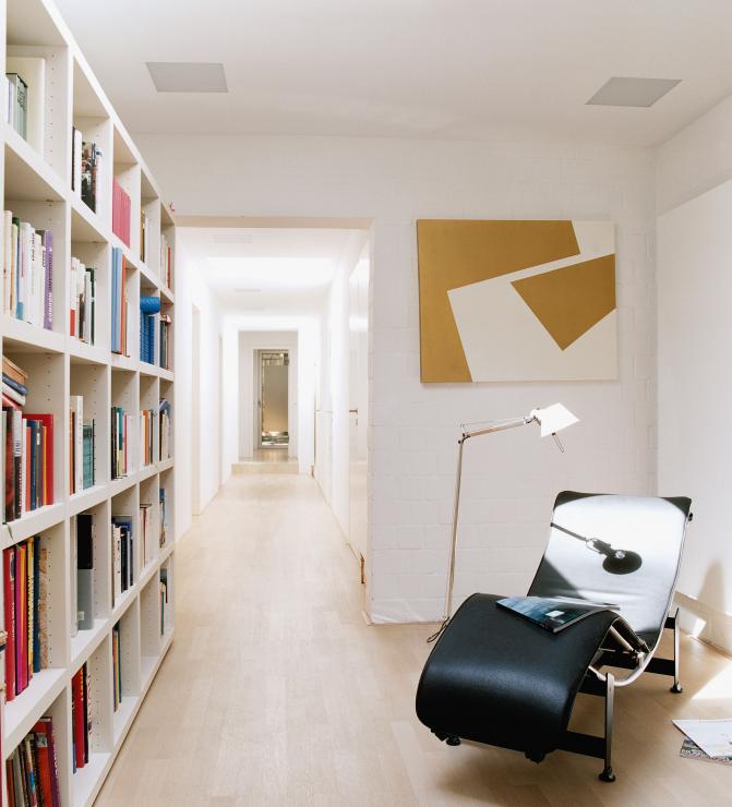 Wohntrends: Atriumhaus, München Harlaching Max Brunner Haus 1