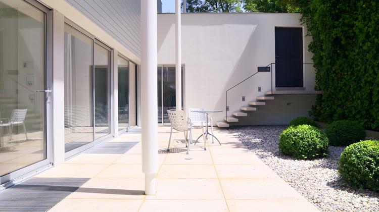 Wohntrends: Atriumhaus, München Harlaching Max Brunner Haus 5
