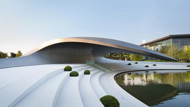 Trend&Lifestyle: Porsche Pavillon, Autostadt Wolfsburg Porsche Pavillon Autostadt Wolfsburg 01