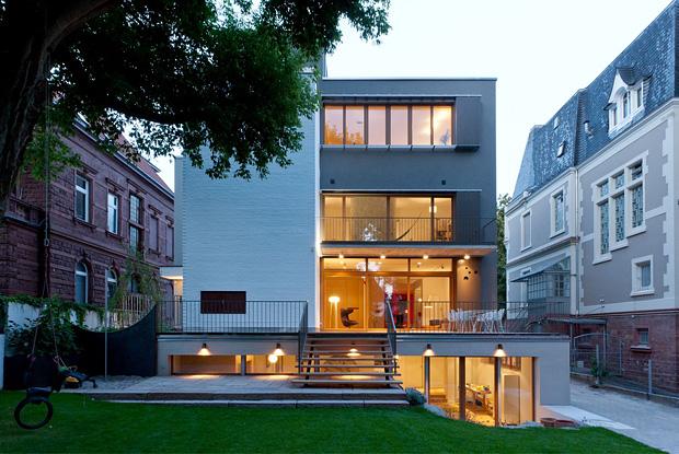 Wohntrends: Stadthaus, Heidelberg Projekt Heidelberg 01