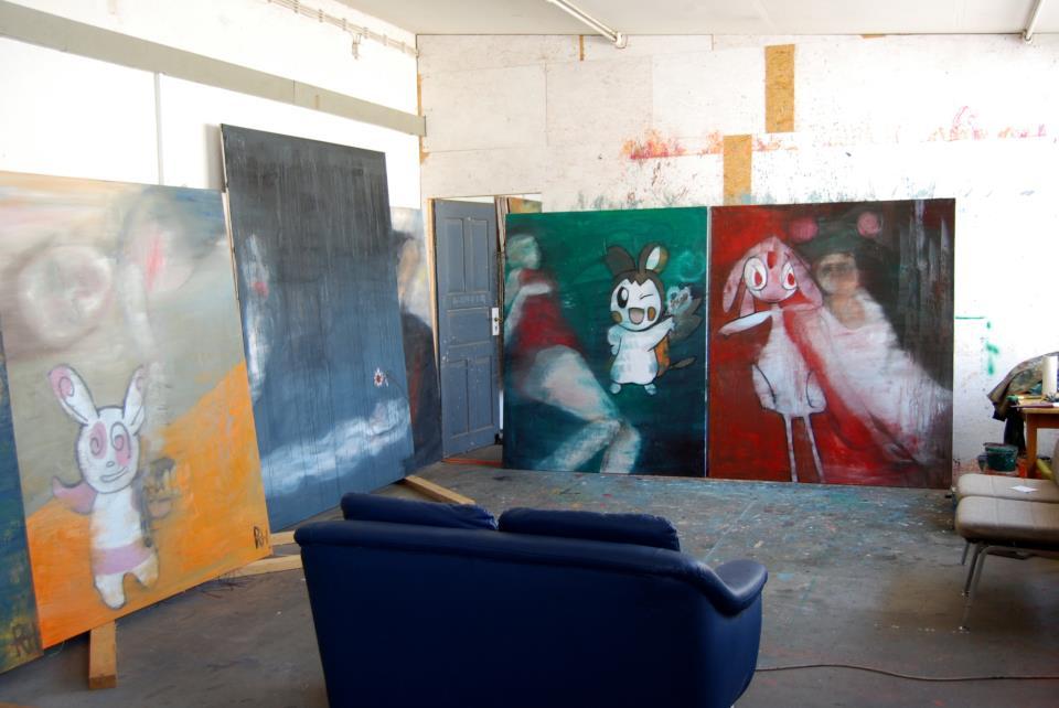 Reiner Heidorn, Ein aktiver Künstler atelier