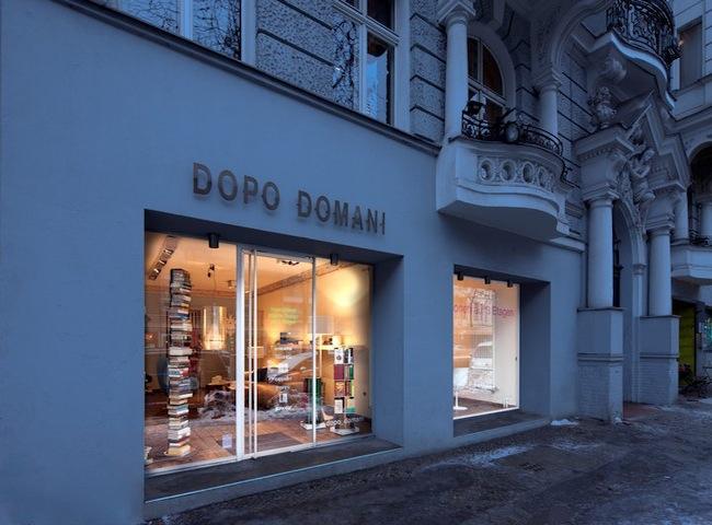 Die Berliner Konzept Design Store dopodomani