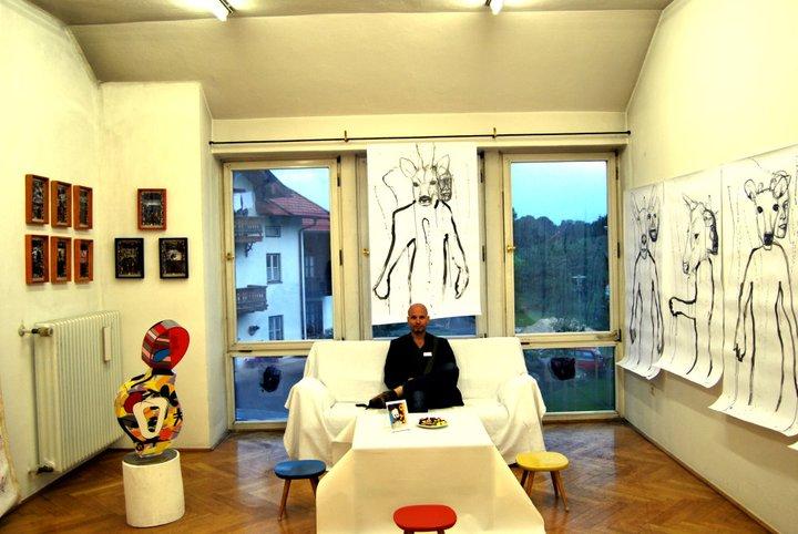 Reiner Heidorn, Ein aktiver Künstler gallery kaysser munich room heidorn
