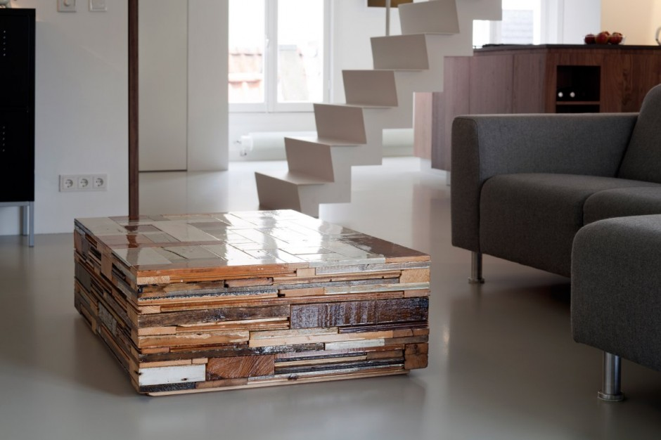 Wohntrends: Laura Alvarez, Amsterdamer Wohnung  wohnzimmertisch selber machen wo