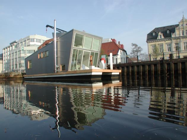 Architektur & Design: Das Schwimmhausboot trend Imag1