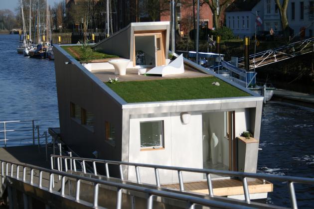 Architektur & Design: Das Schwimmhausboot trend Imag7