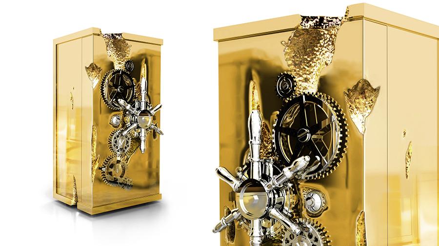 Mit der neuen Jahreszeit kommen di... das neue Modefarbe, Golden Imagem5 SafeMillionaire