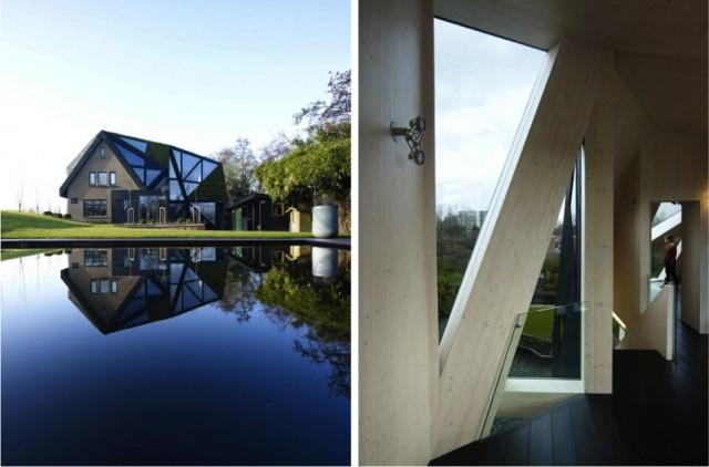 Eine Villa in Rotterdam, Ooze Architekten 1JM pict 16 e1354016914664