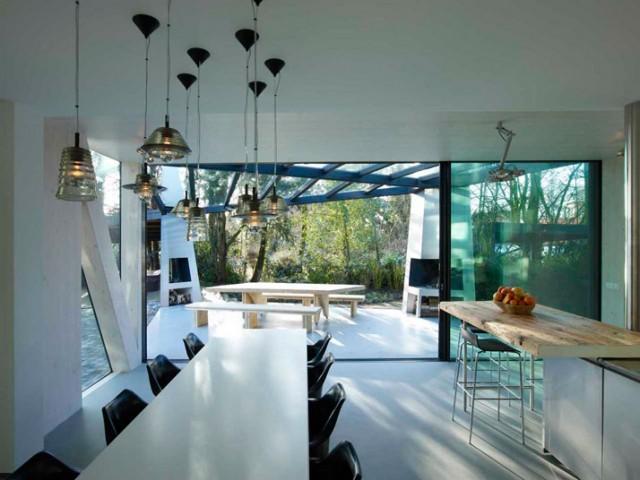 Eine Villa in Rotterdam, Ooze Architekten esszimmer ooze es4 e1354016879676