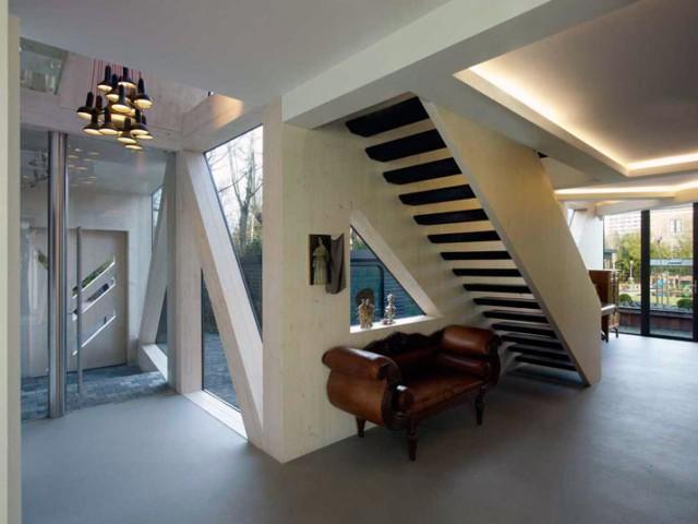 Eine Villa in Rotterdam, Ooze Architekten flug gestalten ooze fl e1354016957285