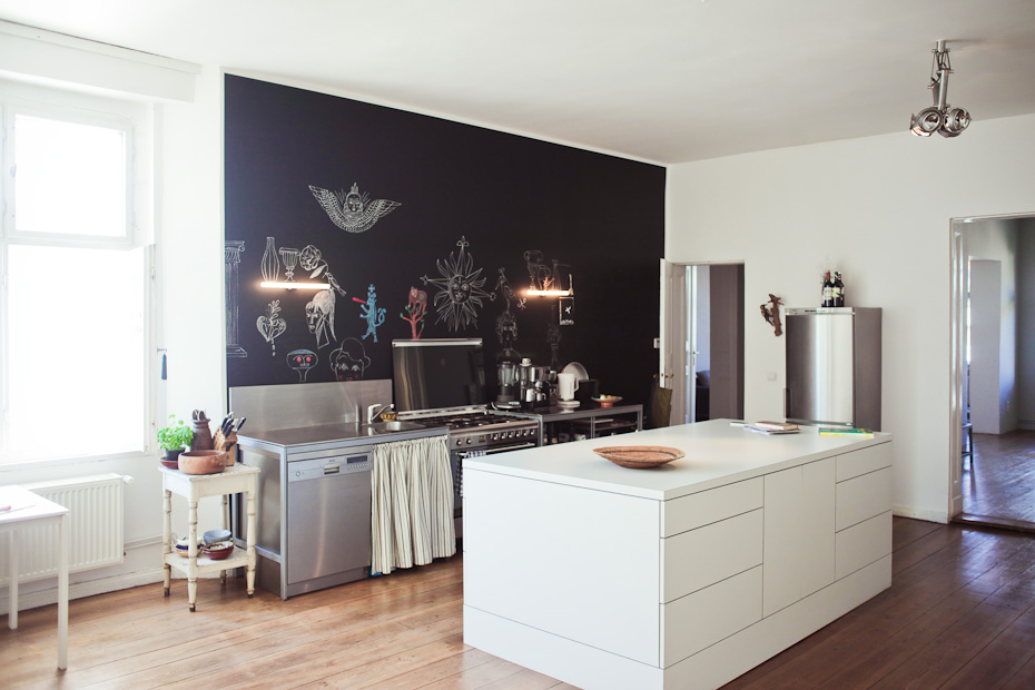 Wohntrends: Apartment und Atelier, Olaf Hajek olaf hajek freunde von freunden 5633