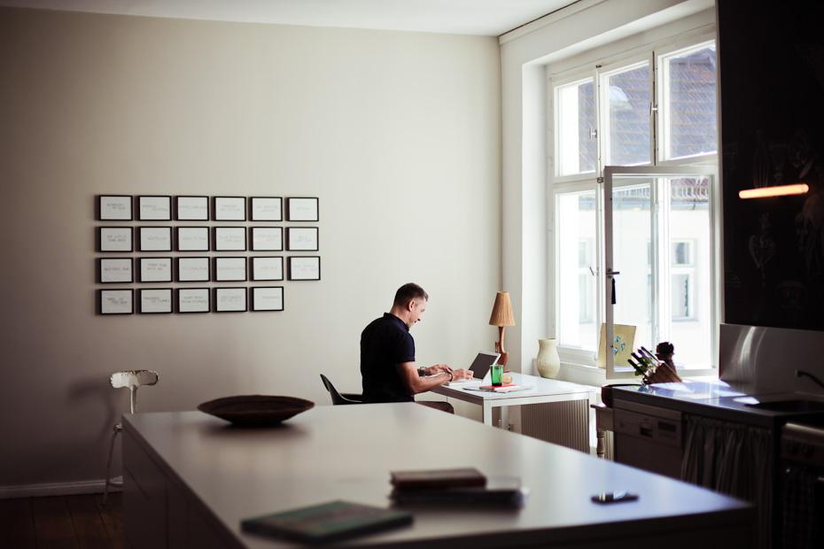 Wohntrends: Apartment und Atelier, Olaf Hajek olaf hajek freunde von freunden 5812