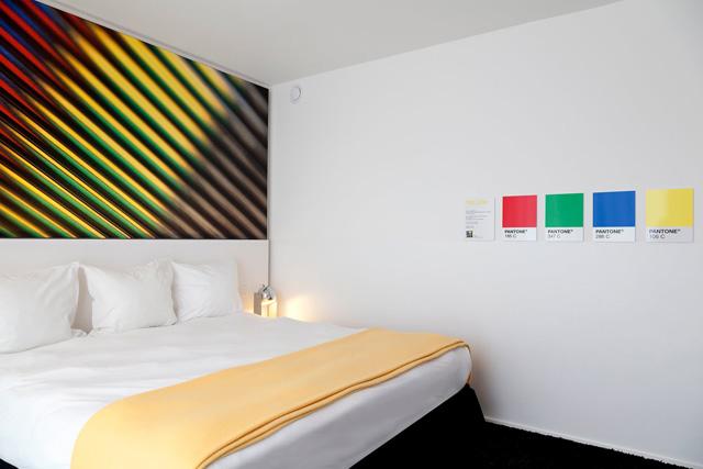 Das Pantone Hotel in Brüssel  pantone hotel 19