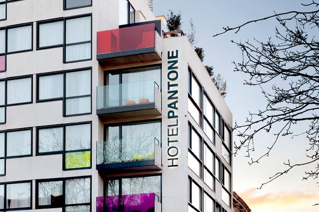 Das Pantone Hotel in Brüssel  pantone hotel 22