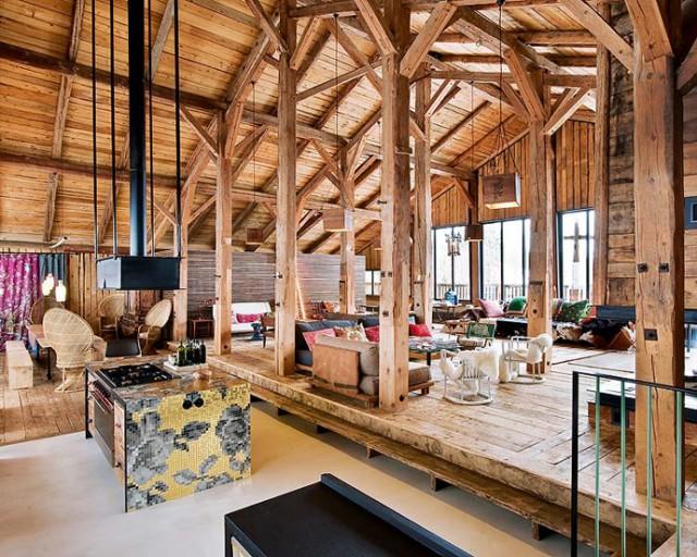Franzosische Alpen Holzhaus3  Holzhaus in den Französischen Alpen Franzosische Alpen Holzhaus3 e1356635671849