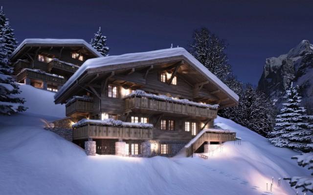 Grindelwald Chatel in der Schweiz 1  Chalet in den Schweizer Bergen Grindelwald Chatel in der Schweiz 1 e1355398693788