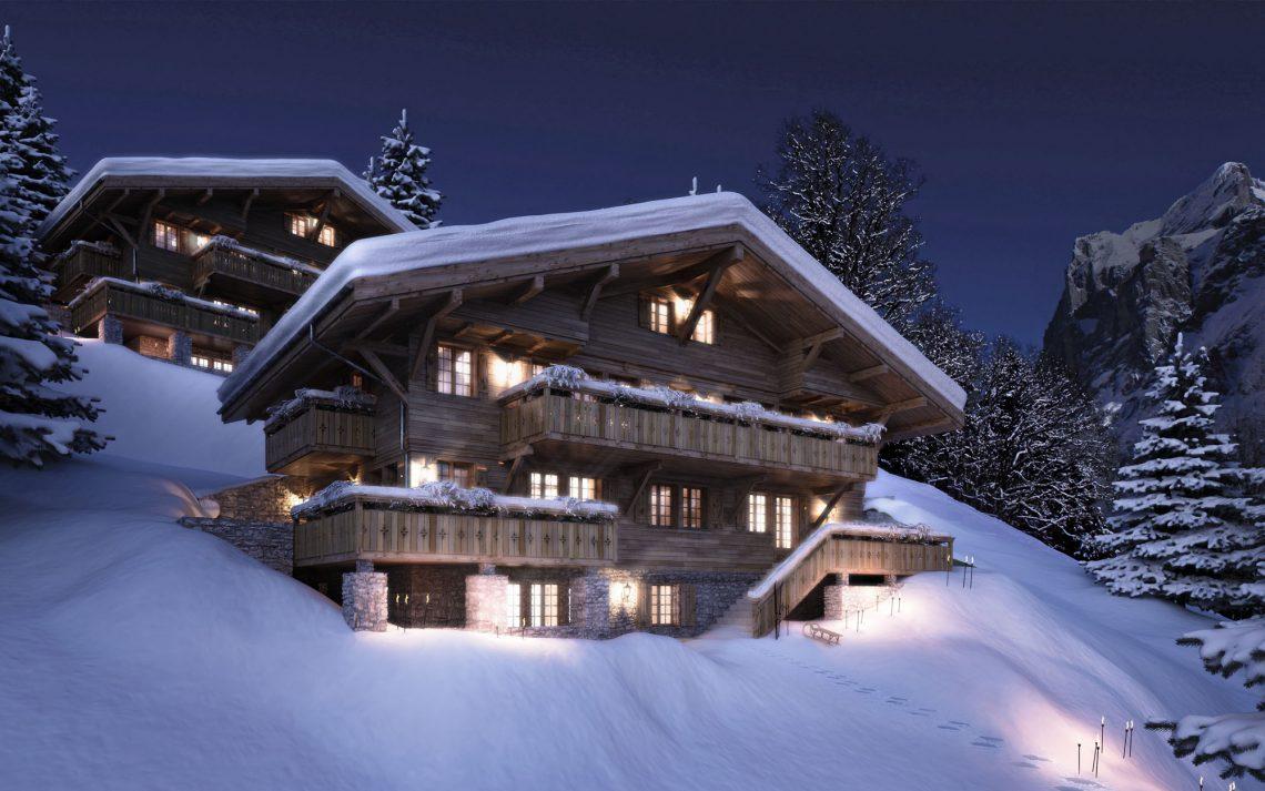 Grindelwald Chatel in der Schweiz 1