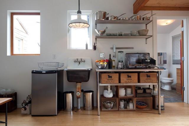 Mini Haus von Michelle de la Vega 3  Wohntrends: Ein Mini-Haus aus einer Garage Mini Haus von Michelle de la Vega 3 e1355840496248