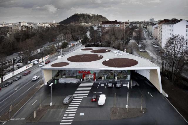 jasmin schuller 6  Erstaunlicher Designtrend in der Architektur: einen Supermarkt in Graz, Österreich jasmin schuller 6 e1354707311528