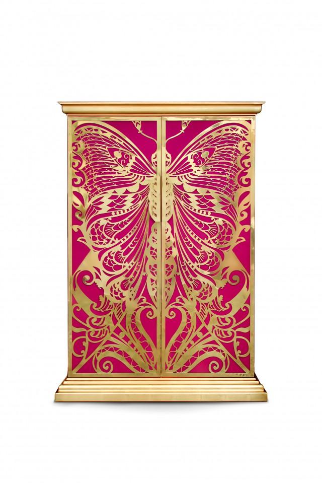 Schwarze und goldene ausgabe wohn designtrend for Wohndesign 2012