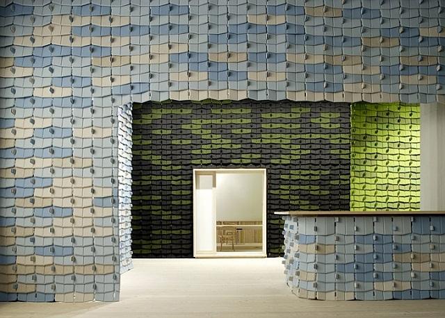 """""""Die Bouroullec-Brüder sind A&W-Designer von 2013. Ihr Designs stehen gut auf Ihnen Wohnzimmer neben Ihnen Lieblingsmöbel und vermischen mit Ihnen Dekoration.""""  Bouroullec-Brüder: die A&W-Designer des Jahres 2013 North Tiles Kvadrat Bouroullec Br  der Marke Leute Wohn Design Trend 09"""