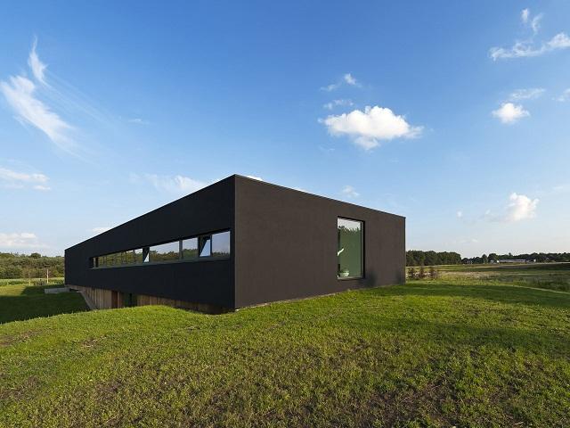 """""""Das Bridge House von 123DV präsentiert eine moderne Architektur und Design. Es ist ein Wohntrend für die grüne Dekoration, die sich auf der Natur inspiriert.""""  Wohntrends: Bridge House von 123DV Wohntrends Bridge House von 123DV Architektur und Design Wohn DesignTrend 02"""