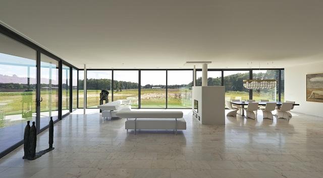 """""""Das Bridge House von 123DV präsentiert eine moderne Architektur und Design. Es ist ein Wohntrend für die grüne Dekoration, die sich auf der Natur inspiriert.""""  Wohntrends: Bridge House von 123DV Wohntrends Bridge House von 123DV Architektur und Design Wohn DesignTrend 09"""