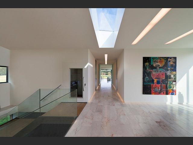 """""""Das Bridge House von 123DV präsentiert eine moderne Architektur und Design. Es ist ein Wohntrend für die grüne Dekoration, die sich auf der Natur inspiriert.""""  Wohntrends: Bridge House von 123DV Wohntrends Bridge House von 123DV Architektur und Design Wohn DesignTrend 11"""