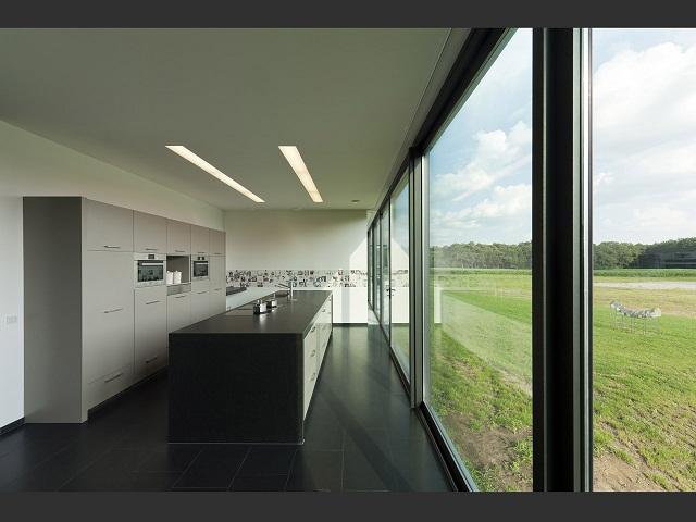"""""""Das Bridge House von 123DV präsentiert eine moderne Architektur und Design. Es ist ein Wohntrend für die grüne Dekoration, die sich auf der Natur inspiriert.""""  Wohntrends: Bridge House von 123DV Wohntrends Bridge House von 123DV Architektur und Design Wohn DesignTrend 13"""