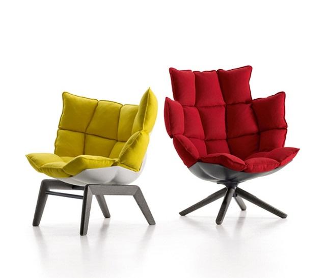 """""""Sessel: ein Möbel für eine Person und dient dem bequemen Sitzen. Machen Sie es sich bequem mit Menge Sessel von romantisch über urban bis zu klassisch sein.""""  Dekoideen fürs Wohnzimmer: gemütliche Sessel beb italia armchair husk marke wohn designtrend 01"""
