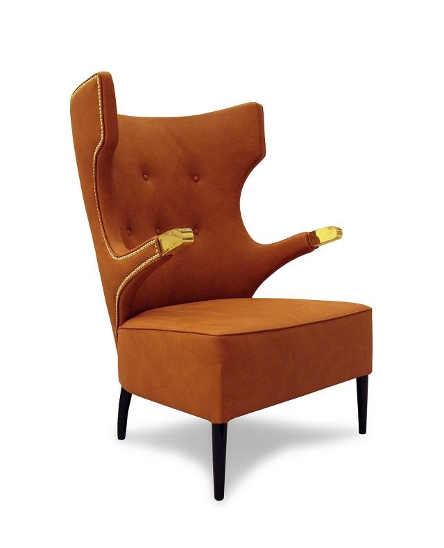 """""""Sessel: ein Möbel für eine Person und dient dem bequemen Sitzen. Machen Sie es sich bequem mit Menge Sessel von romantisch über urban bis zu klassisch sein.""""  Dekoideen fürs Wohnzimmer: gemütliche Sessel brabbu armchair sika marke wohn designtrend 011"""