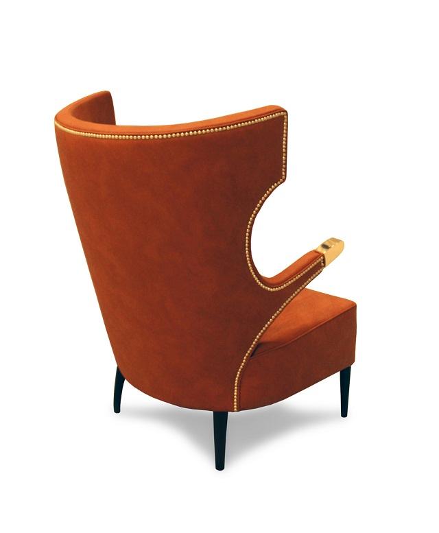 """""""Sessel: ein Möbel für eine Person und dient dem bequemen Sitzen. Machen Sie es sich bequem mit Menge Sessel von romantisch über urban bis zu klassisch sein.""""  Dekoideen fürs Wohnzimmer: gemütliche Sessel brabbu armchair sika marke wohn designtrend 021"""