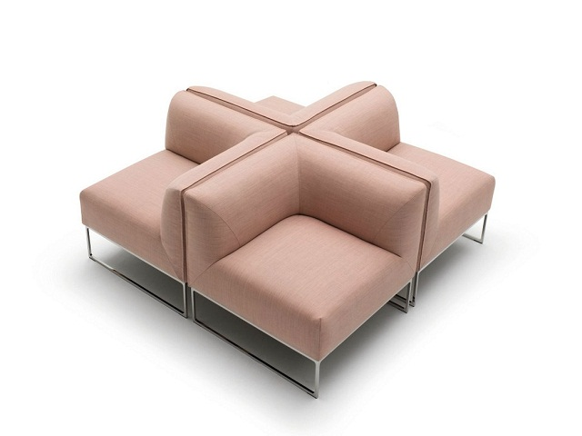 """""""Sessel: ein Möbel für eine Person und dient dem bequemen Sitzen. Machen Sie es sich bequem mit Menge Sessel von romantisch über urban bis zu klassisch sein.""""  Dekoideen fürs Wohnzimmer: gemütliche Sessel cor armchair mell marke wohn designtrend 01"""