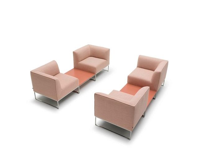 """""""Sessel: ein Möbel für eine Person und dient dem bequemen Sitzen. Machen Sie es sich bequem mit Menge Sessel von romantisch über urban bis zu klassisch sein.""""  Dekoideen fürs Wohnzimmer: gemütliche Sessel cor armchair mell marke wohn designtrend 02"""