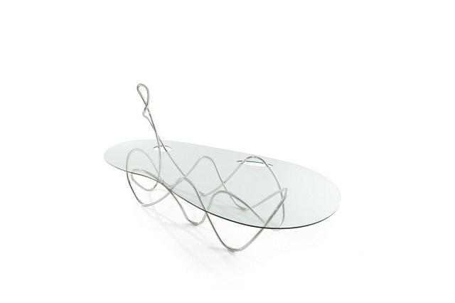 """""""Freuen Sie sich mit diesen modernen, stilvollen und schönen Couchtische. Fügen Sie Ihre Wohnaccessoires mit diesen erstaulichen Dekorstücke zusammen.""""  Dekoideen: moderne, stilvolle und schöne Couchtische edra capriccio coffee table marke wohndesigntrend 01"""