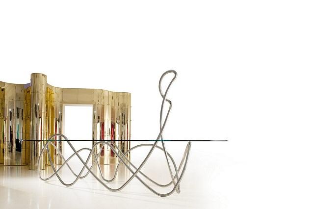 """""""Freuen Sie sich mit diesen modernen, stilvollen und schönen Couchtische. Fügen Sie Ihre Wohnaccessoires mit diesen erstaulichen Dekorstücke zusammen.""""  Dekoideen: moderne, stilvolle und schöne Couchtische edra capriccio coffee table marke wohndesigntrend 02"""