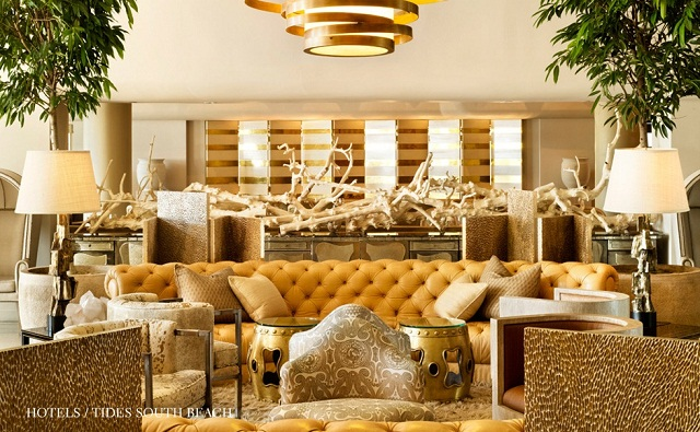 """""""Der Stil des Designers Kelly Wearstler ist glamourös und gleichzeitig klar, chic und modern, und ihres Glamours und ihrer Opulenz machen die einfach Spaß.""""  Kelly Wearstler: inspirative und chic Designhotels kelly wearstler inspirative designhotels luxus und trendige plaetze wohndesigntrend 06"""