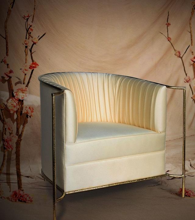 """""""Sessel: ein Möbel für eine Person und dient dem bequemen Sitzen. Machen Sie es sich bequem mit Menge Sessel von romantisch über urban bis zu klassisch sein.""""  Dekoideen fürs Wohnzimmer: gemütliche Sessel koket armchair desire marke wohn designtrend 02"""