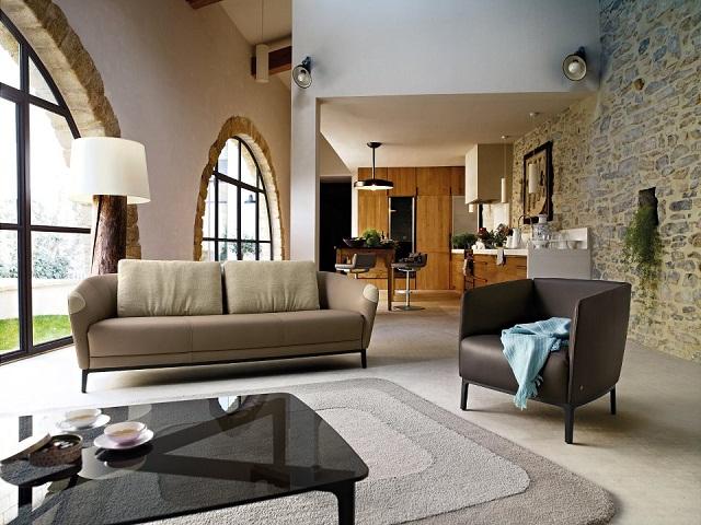 """""""Sessel: ein Möbel für eine Person und dient dem bequemen Sitzen. Machen Sie es sich bequem mit Menge Sessel von romantisch über urban bis zu klassisch sein.""""  Dekoideen fürs Wohnzimmer: gemütliche Sessel rolf benz marke wohn designtrend 01"""
