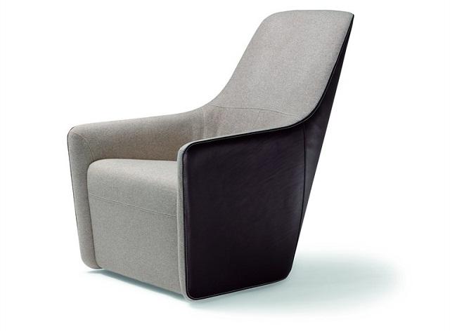 """""""Sessel: ein Möbel für eine Person und dient dem bequemen Sitzen. Machen Sie es sich bequem mit Menge Sessel von romantisch über urban bis zu klassisch sein.""""  Dekoideen fürs Wohnzimmer: gemütliche Sessel walter knoll armchair foster520 marke wohn designtrend 01"""