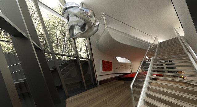 """""""Zaha Hadid ist eine der TOP 100 stärkste Frauen in dem Großbritannien. Sie hat viele Projekte der Innen- und Architektur gemacht.""""  Zaha Hadid, eine der stärksten Frauen der Welt Capital Hill Residence Zaha Hadid Architektin Leute Wohn DesignTrend 05"""