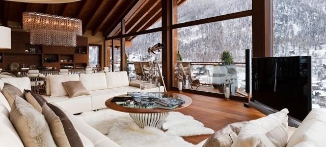 Dekoideen luxuri se interieurs der chalets in den alpen wohn designtrend - Luxus wohnaccessoires ...