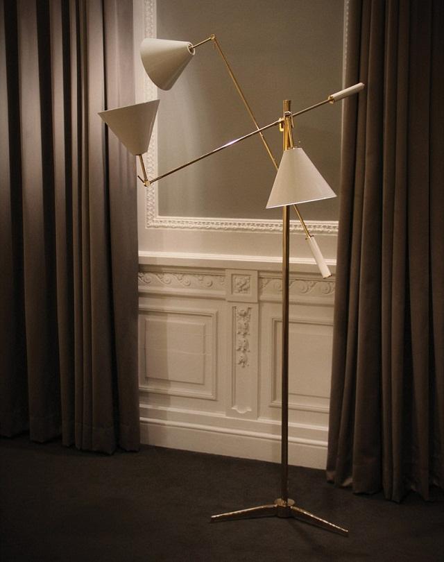 """""""Die Messe Euroluce in Mailand verfügt über eine vollständige Reihe an Beleuchtungssysteme, von Lichtquellen bis hin zu häuslicher Beleuchtung.""""  Delightfull an der Beleuchtungsmesse Euroluce 2013 Delightfull an der Beleuchtungsmesse Euroluce 2013 Marke Ereignisse Wohn DesignTrend Sinatra Floor Lamp"""
