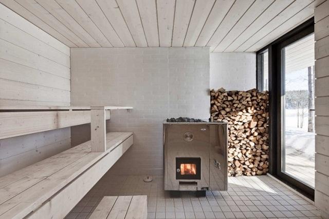 """""""Four-cornered Villa von Studio Avanto Architects; Familienhaus in Finnland; Minimalistisches Design."""""""