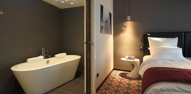 """""""Das Le Clervaux Boutique & Design Hotel von JOI-Design liegt in Clervaux in der Nähe der folgenden Sehenswürdigkeit: Schloss Clervaux.""""  Das neue Designhotel: Le Clervaux, Luxemburg Le Clervaux Boutique and Design Hotel Luxus und trendige Plaetze Wohn DesignTrend 6"""