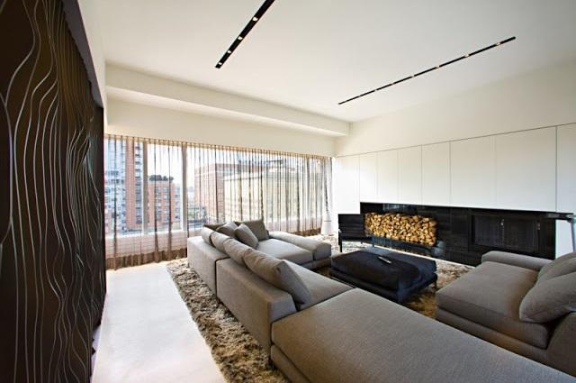 """""""Ein luxuriöse Penthouse auf NY von Innocad Architektur -  """"PH New York"""". Diese Wohnung ist eine Mischung des Europäischen Designs und Lebensstils von New York.""""  Penthouse auf NY von Innocad Architektur Penthouse NY von Innocad Architektur Luxus und trendige Pl  tze Wohn DesignTrend 02"""